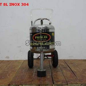 Bình hút nhớt 8L-INOX-304 chính hãng