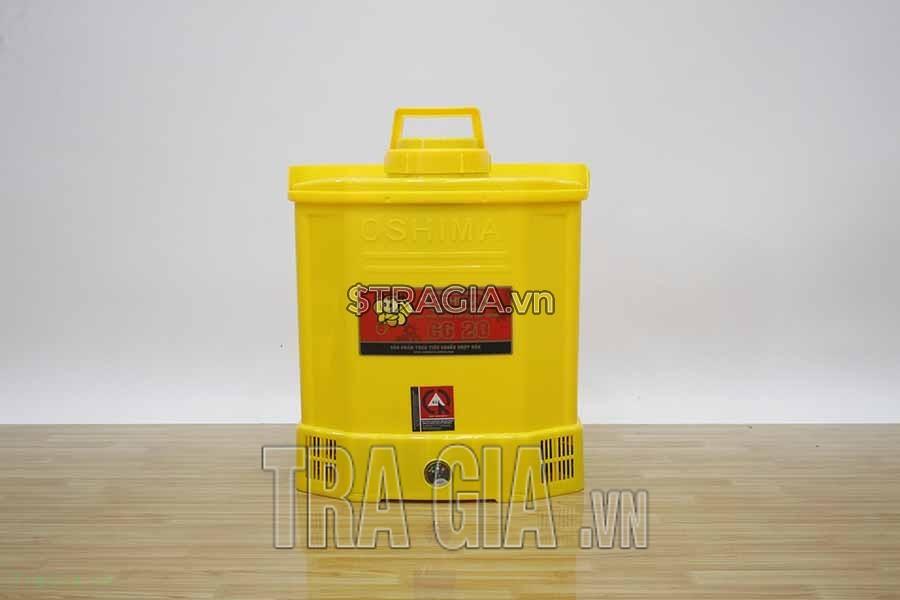 Bình phun thuốc Oshima CG-20 vàng chất lượng tiêu chuẩn Nhật Bản