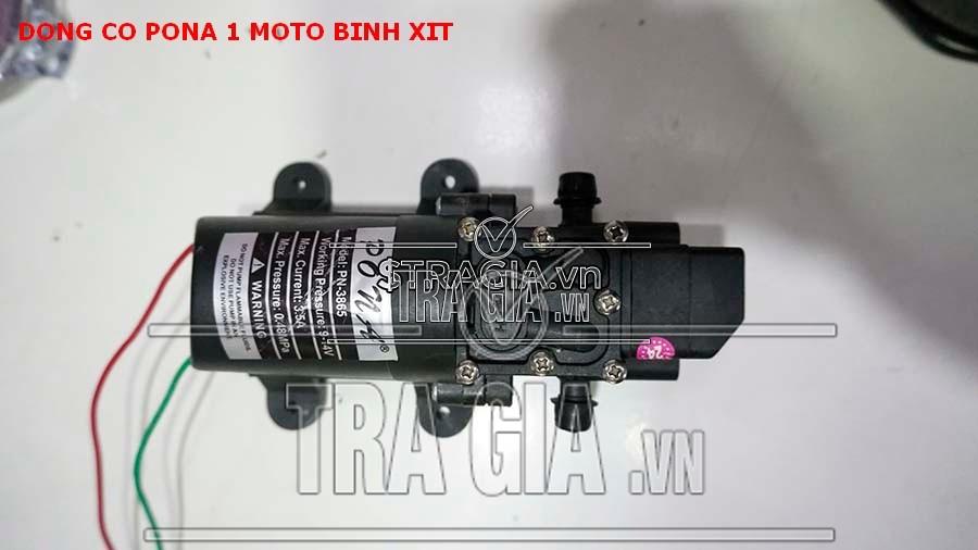Đầu hút và xả moto Pona bình xịt thuốc PN 3865