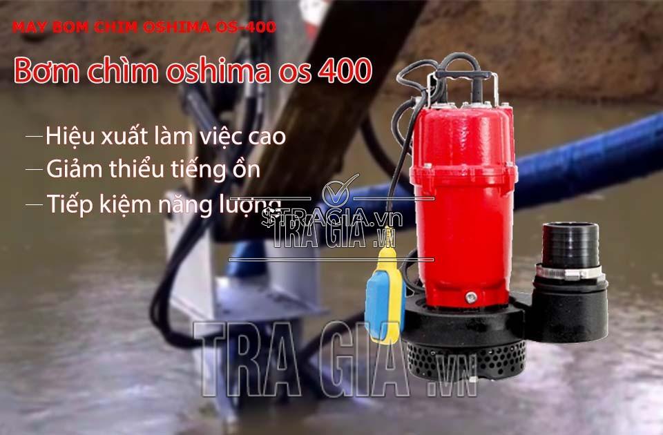 Ưu điểm của máy bơm nước oshima OS400