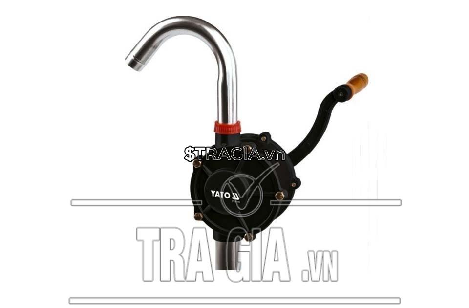 Máy bơm dầu quay tay Inox YT-07115 tiện dụng