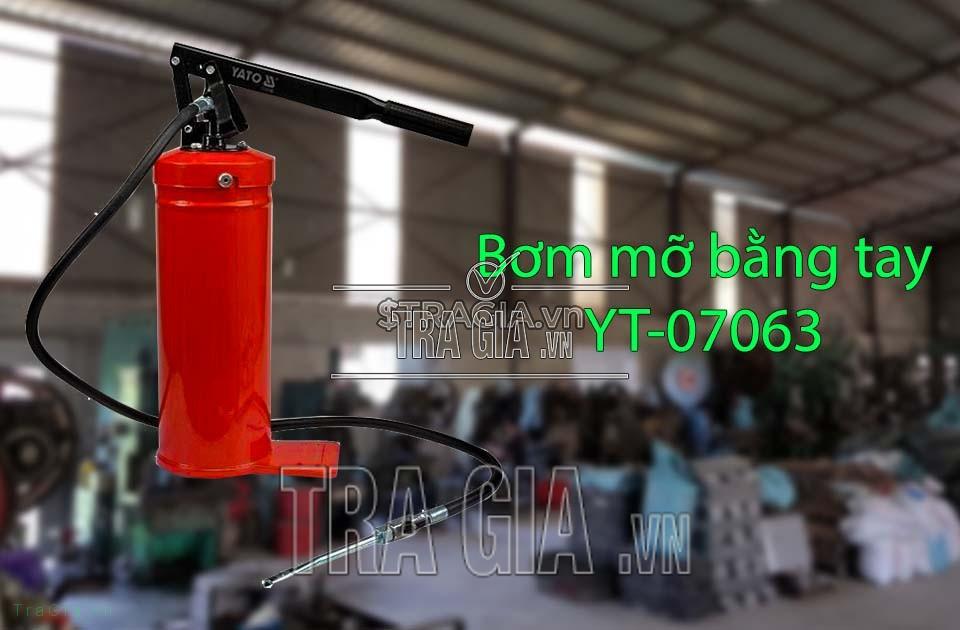 Máy bơm mỡ bằng tay 8kg YT-07063 uy tín