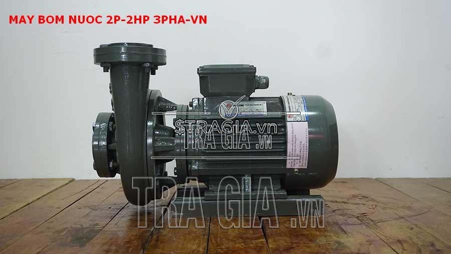 Máy bơm nước 2P-2HP-3pha-VN chất lượng