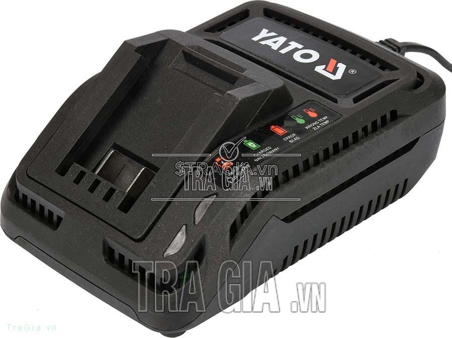 Pin máy cắt cỏ YATO dùng bin 18V YT 82830
