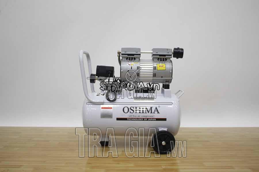 Máy bơm khí không dầu Oshima 24 lít