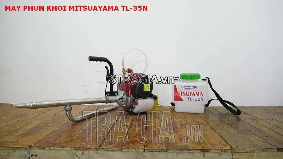 Máy phun khới Mitsuyama TL-35N là sản phẩm đắc lực của bà con nông dân trong vấn đề phòng chống côn trùng gây bệnh cho mùa màng