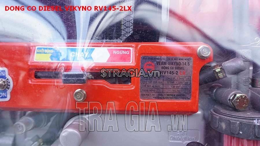 Công suất của máy nổ VIKYNO RV145-2LX rất mạnh lên đến 12.5HP