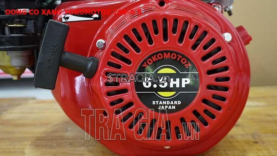 YOKOMOTOZ 200 6.5HP có công suất 6.5HP mạnh mẽ cùng với tay giựt nổ dễ khởi động