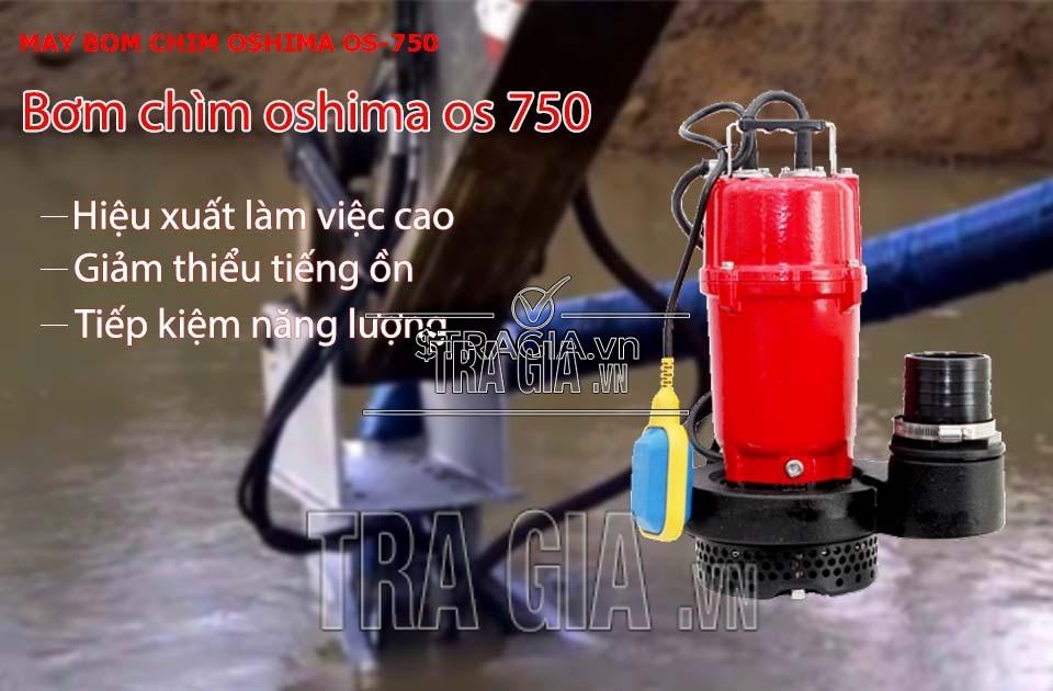 Ưu điểm của máy bơm nước Oshima OS750