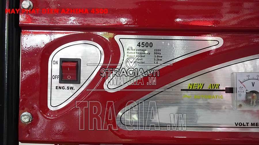 Máy phát điện chạy xăng 4500 không đề chất lượng