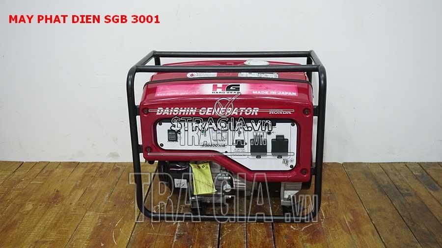 Máy phát điện SGB 3001 sử dụng tiết kiệm nhiên liệu xăng