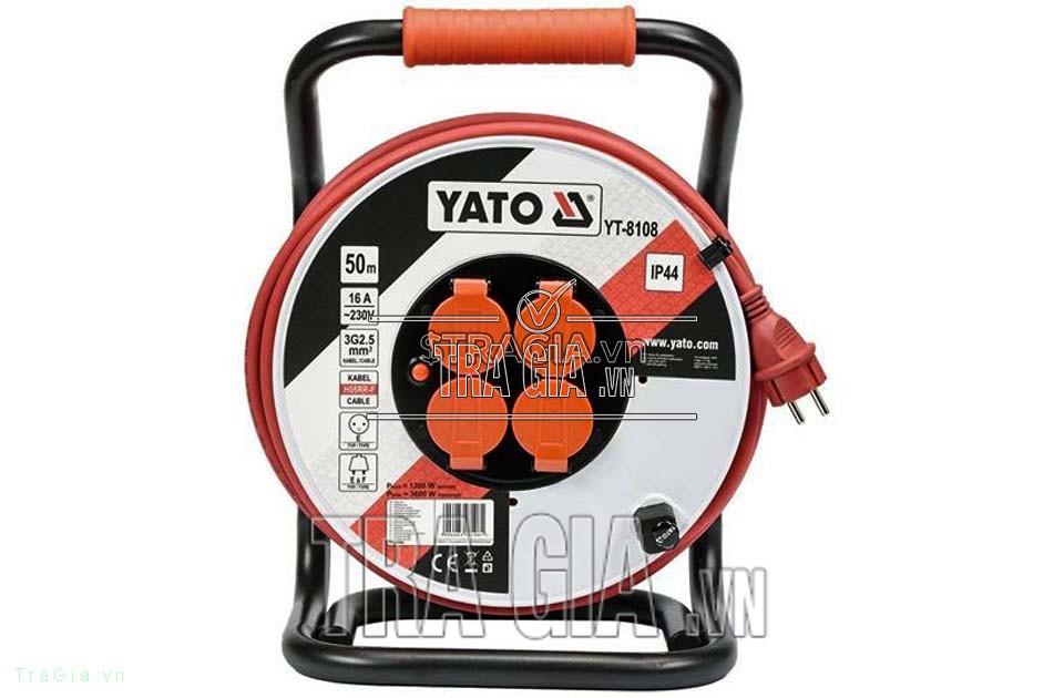 Ổ cắm quay tay 50M YATO YT-8108 là sản phẩm thuộc thương hiệu nổi tiếng