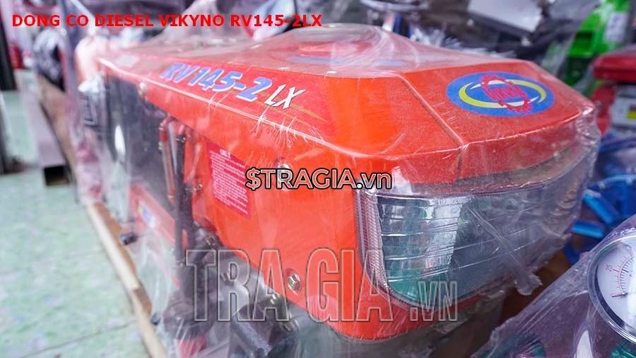 Động cơ nổ VIKYNO RV145-2LX thiết kế với bộ đèn pha giúp người dùng thao tác trong đêm dễ dàng