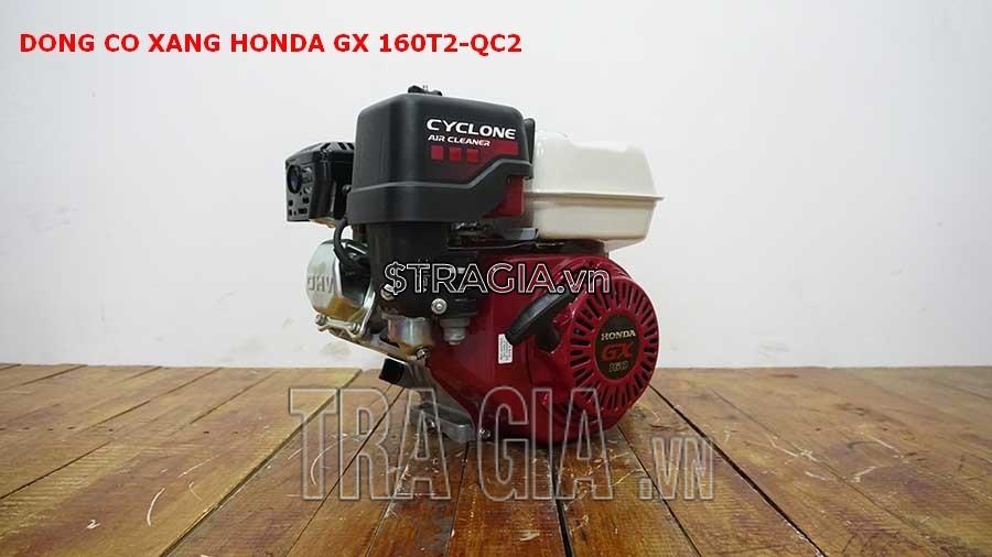 Động cơ nổ Honda GX 160T2 QC2 là sản phẩm được tin dùng trong chạy ghe xuồng, động cơ cho máy tuốt lúa,...