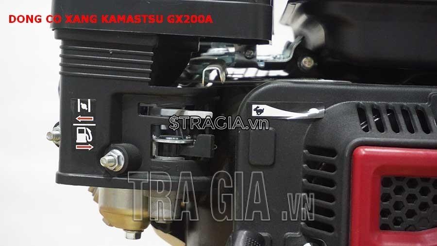 Tay ga của máy nổ KAMASTSU GX200A