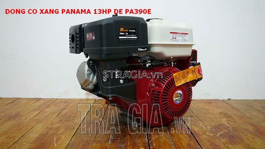Máy nổ PANAMA 13HP PA390E là sản phẩm được tin dùng trong chạy ghe xuồng, động cơ cho máy tuốt lúa,...