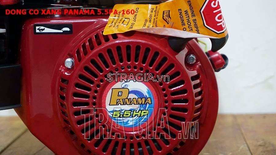 Động cơ nổ PANAMA 5.5HP PA160 có công suất 5.5HP mạnh mẽ với tay giật nổ dễ khởi động