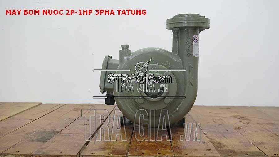 Máy bơm nước 2p-1hp-3pha TATUNG tiện dụng