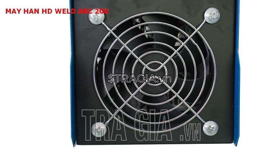 Quạt tản nhiệt của máy hàn điện tử HD MMA ARC 200