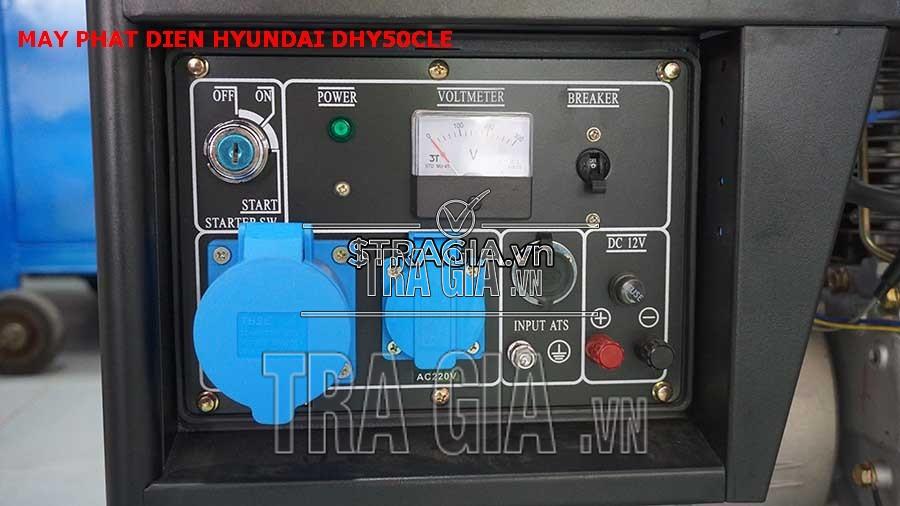 Máy phát điện chạy dầu DHY50CLE chất lượng