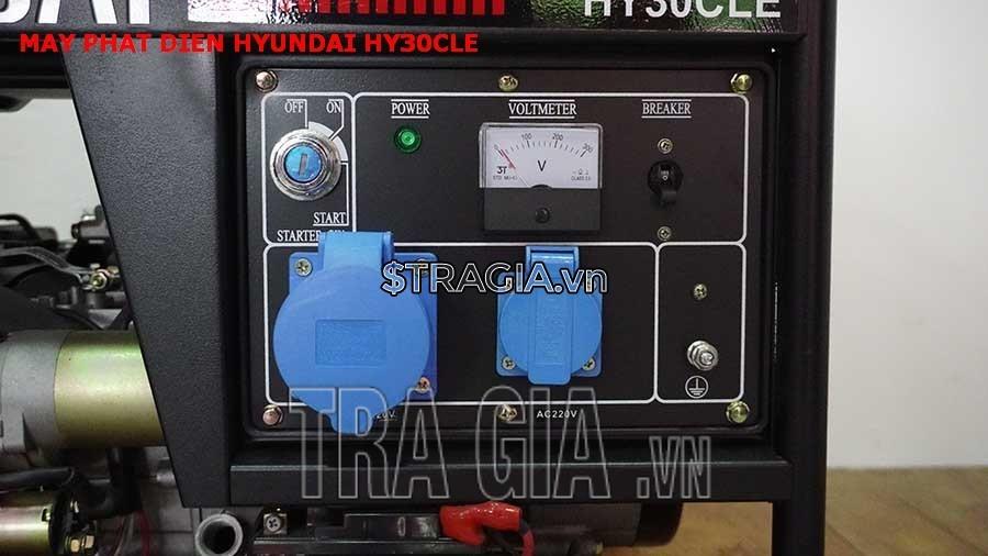 Máy phát điện chạy xăng HY30CLE chất lượng