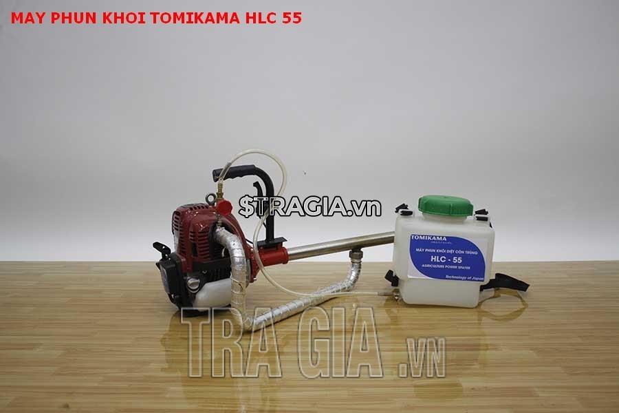 Máy phun khói Tomikama HLC-55 căn chỉnh được lượng hóa chất, lương khói ra theo ý muốn góp phần tiết kiệm nhiên liệu