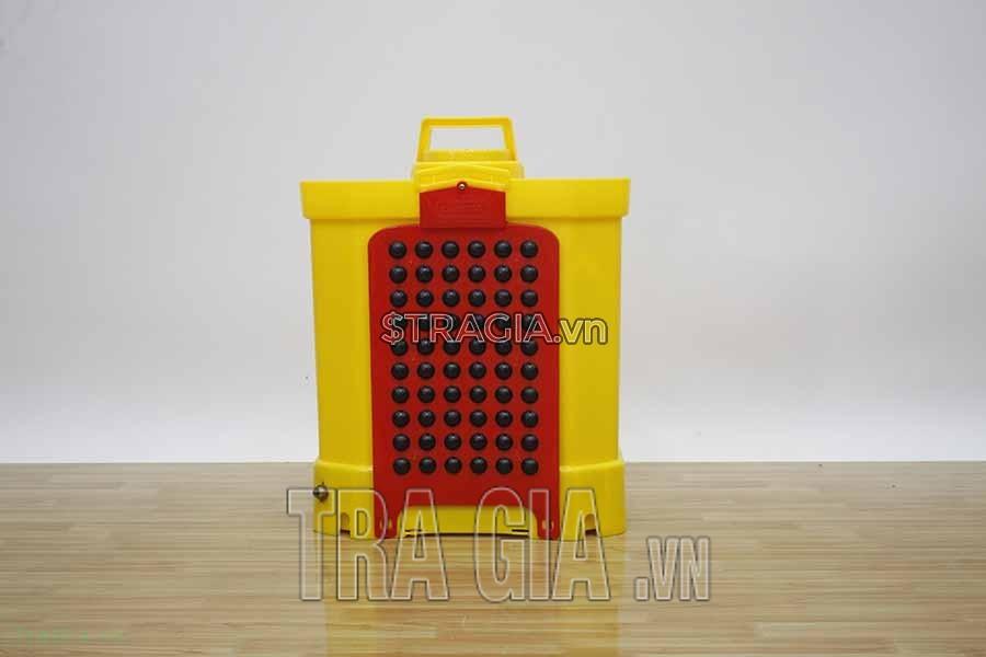 Máy phun thuốc Oshima CG-20 vàng dễ sử dụng