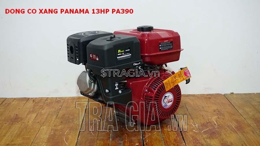 Máy nổ PANAMA 13HP PA390 là sản phẩm được tin dùng trong chạy ghe xuồng, động cơ cho máy tuốt lúa,...