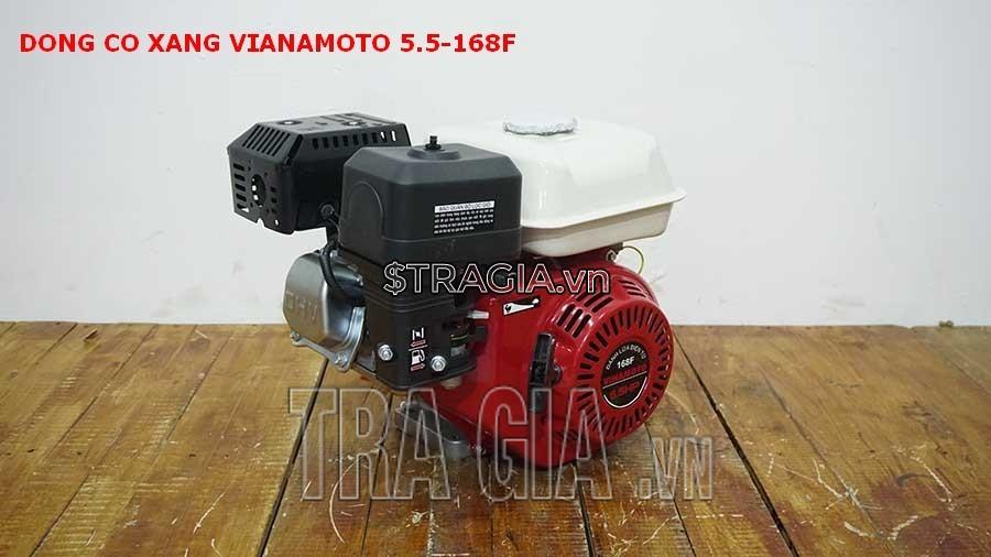 Máy nổ VINAMOTO 5.5HP 168F là sản phẩm được tin dùng trong chạy ghe xuồng, động cơ cho máy tuốt lúa,....