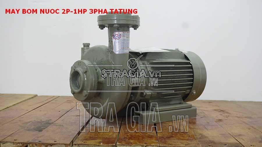 Máy bơm nước 2p-1hp-3pha dễ dàng sử dụng