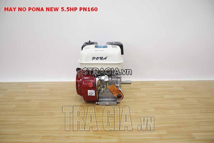 Động cơ nổ PONA PN160 5.5HP là sản phẩm được tin dùng trong chạy ghe xuồng, động cơ cho máy tuốt lúa,…