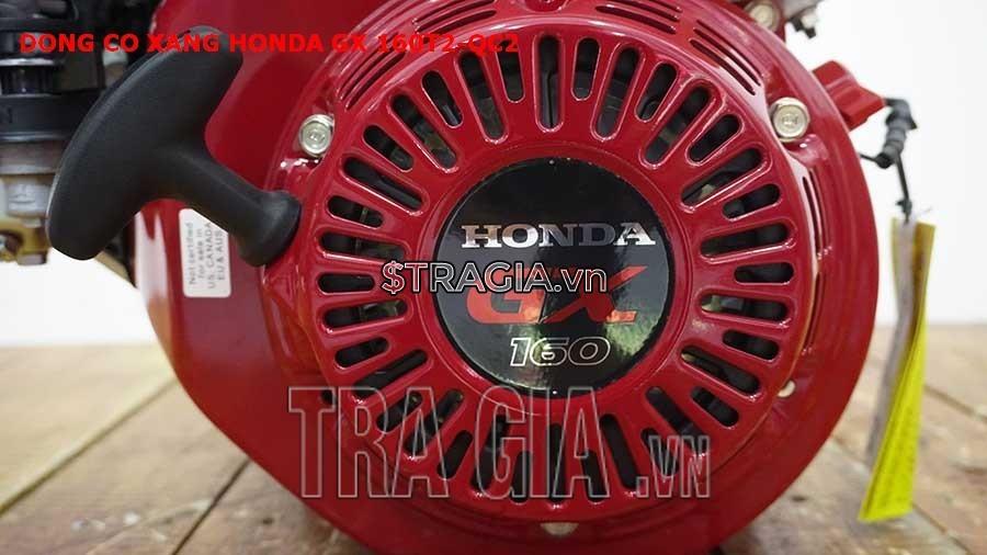 Động cơ nổ Honda GX 160T2 QC2 có công suất 6.5HP mạnh mẽ công với tay giật nổ dễ khởi động
