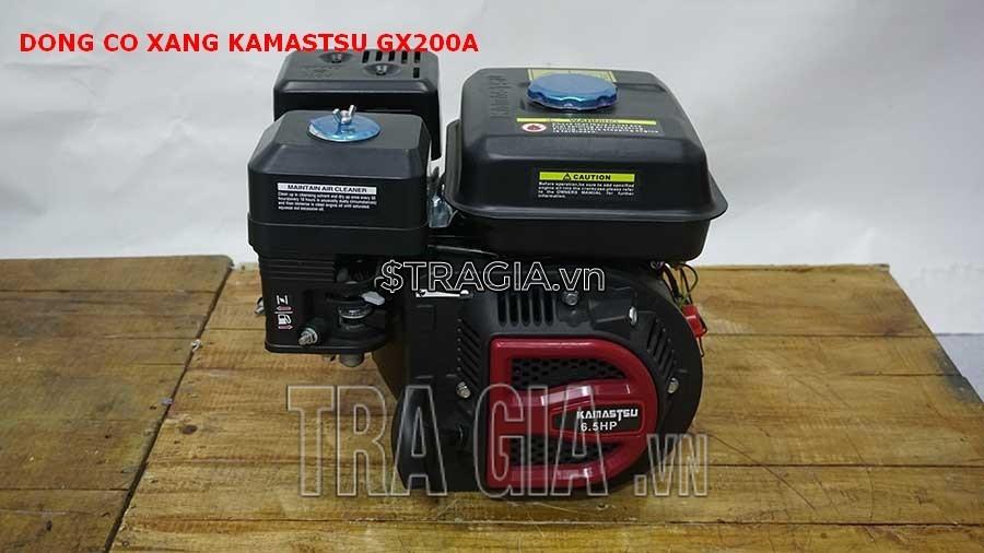 Máy nổ KAMASTSU GX200A là sản phẩm được tin dùng trong chạy ghe xuồng, động cơ cho máy tuốt lúa,...