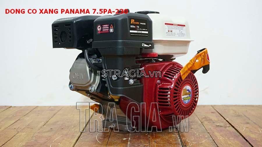 Máy nổ PANAMA 7.5HP PA230 là sản phẩm được tin dùng trong chạy ghe xuồng, động cơ cho máy tuốt lúa,...