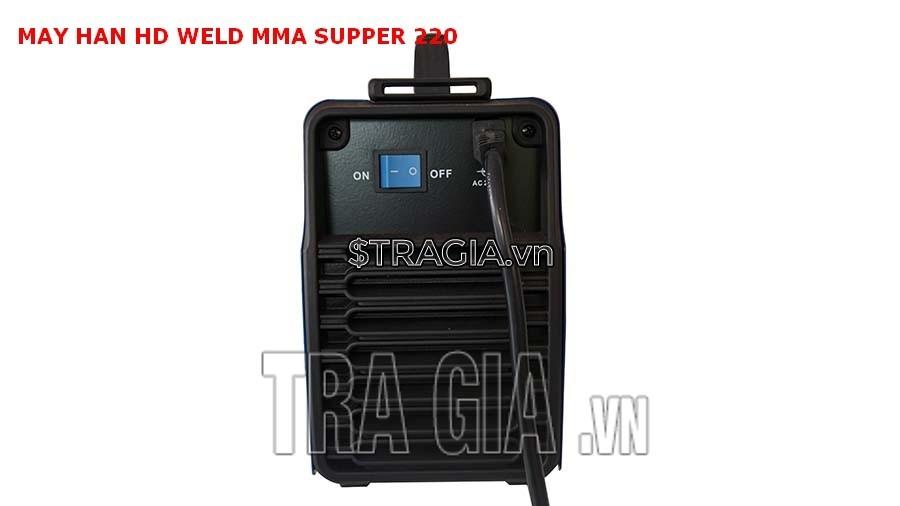 Mặt khởi động của máy hàn que điện tử HD MMA Super 220