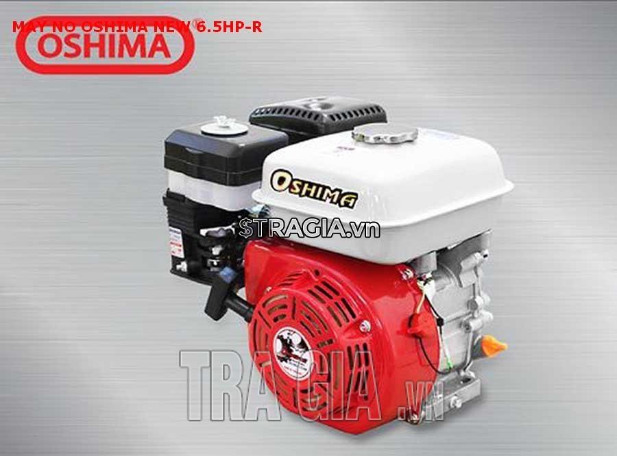 Động cơ xăng OSHIMA NEW-R 6.5HP dùng để chạy ghe xuồng, rửa xe, phát điện