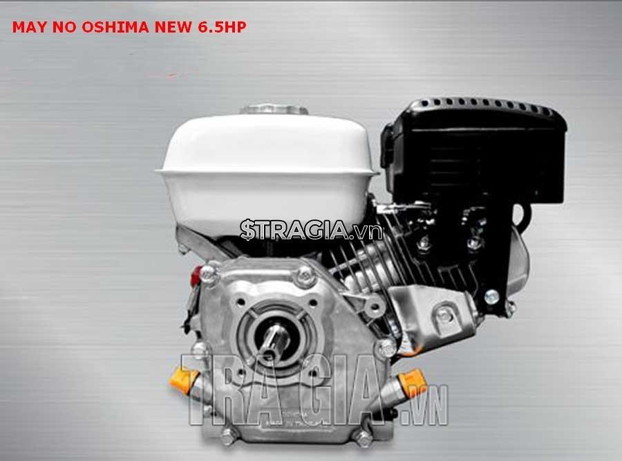 Động cơ xăng OSHIMA NEW 6.5HP có kích thước trung bình giúp người dùng di chuyển không quá khó khăn