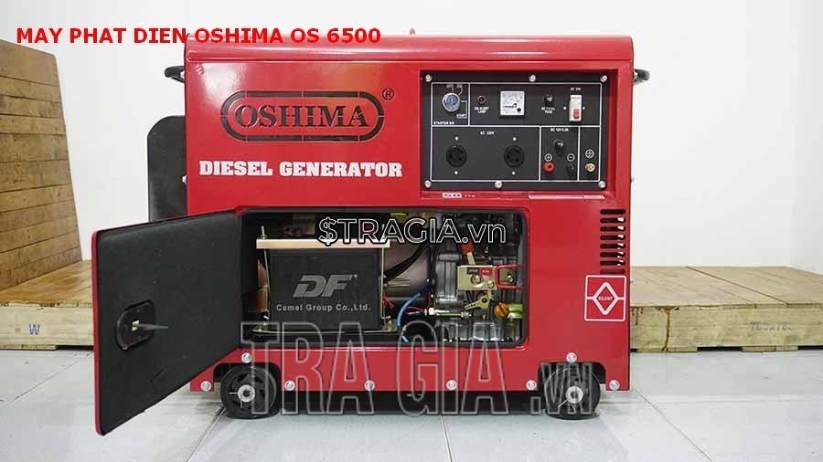 Máy phát điện chạy dầu OS 6500 chất lượng