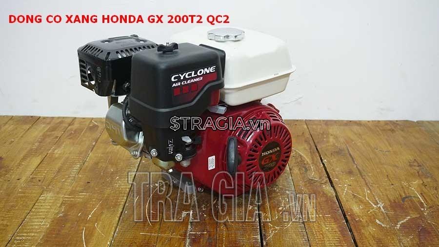 Động cơ nổ Honda GX 200T2 QC2 là sản phẩm được tin dùng trong chạy ghe xuồng, động cơ cho máy tuốt lúa,...