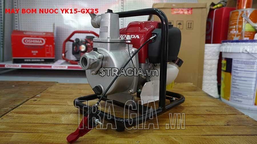 Máy bơm nước YK15-GX35 được sử dụng phổ biến trong nông nghiệp