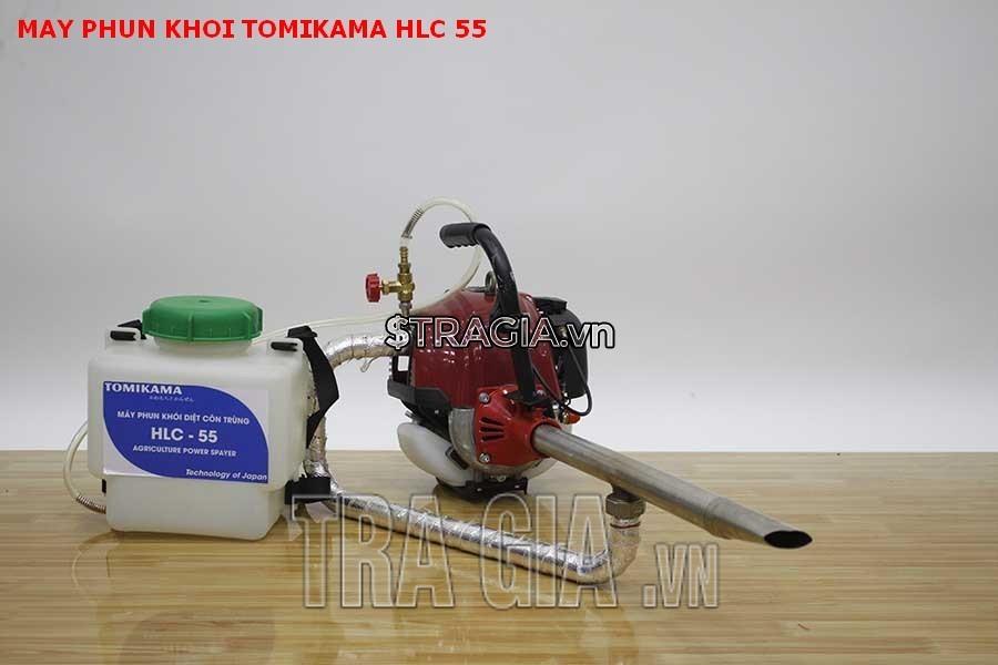 Máy phun sương Tomikama HLC-55 là sản phẩm đắc lực của bà con nông dân trong vấn đề phòng chống côn trùng gây bệnh cho mùa màng