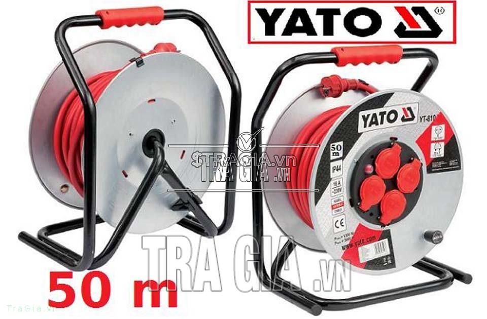 Cuộn dây điện Yato YT-8108 với độ dài lên đến 50m