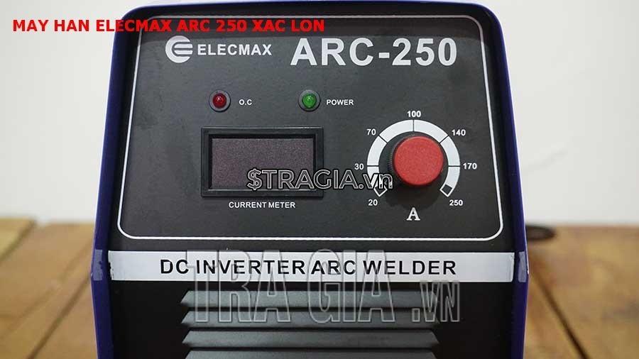 Bảng điều khiển máy hàn Elecmax ARC 250 xác lớn