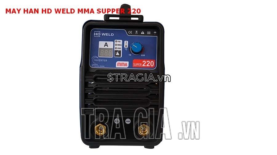 Mặt điều khiển máy hàn que điện tử HD MMA Super 220