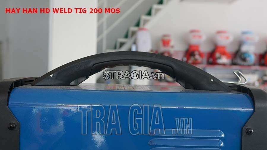 Tay cầm của máy hàn điện tử Weld TIG 200 MOS