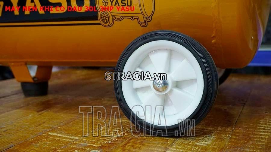 Bánh xe máy nén khí có dầu 30L-3HP-Yasu.