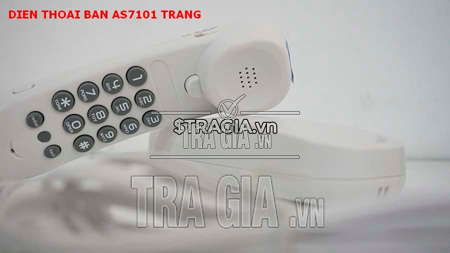 Điện thoại treo tường Uniden AS 7101 trắng