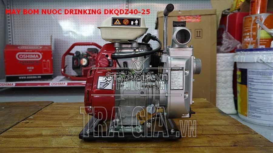 Máy bơm nước Drinking-DKQDZ-25 dễ dàng sử dụng