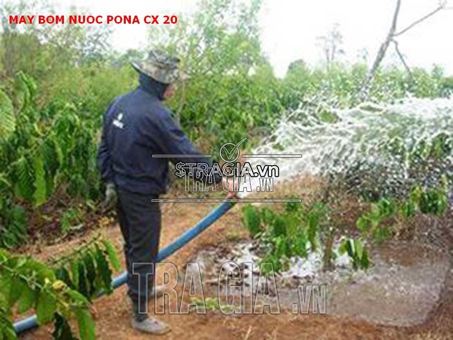 Ứng dụng máy bơm PONA CX 20