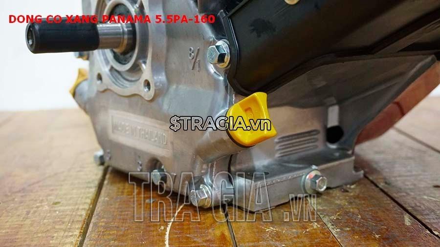 Chân máy nổ PANAMA 5.5HP PA160 dày giúp máy không bị rung lắc khi hoạt động